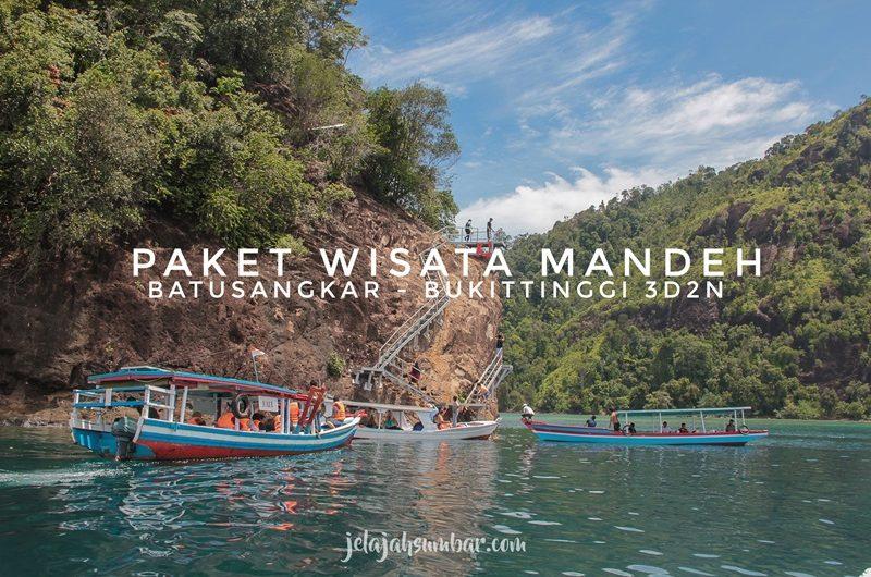 paket wisata pulau sumbar mandeh