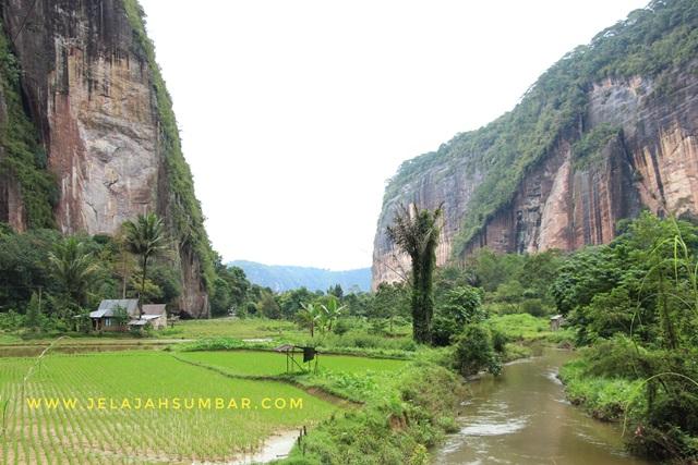 objek wisata Lembah Harau di Kabupaten Lima Puluh Kota