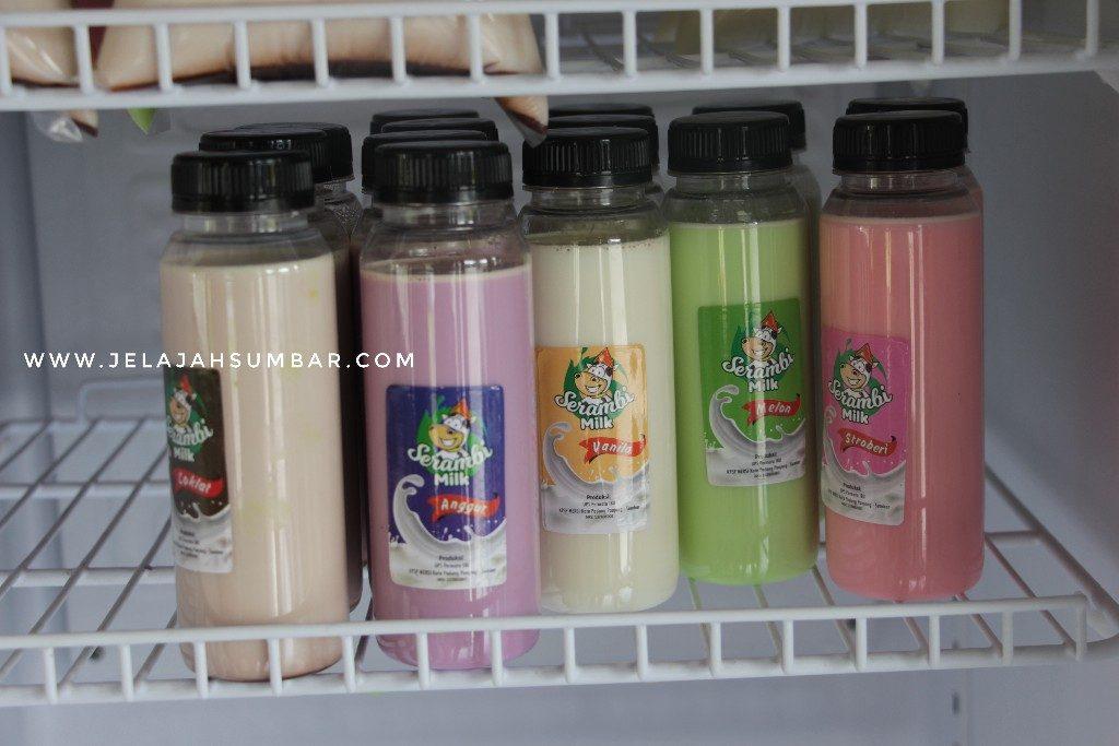 produk susu serambi milk padang panjang