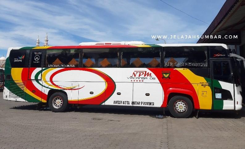 bus npm padang medan